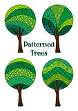 Patterned Trees, Set