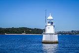White lighthouse in Sydney, Australia