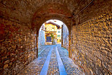 Colorful cobbled street of Cividale del Friuli