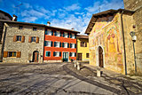 Italian heritage in Cividale del Friuli Natisone river ancient s