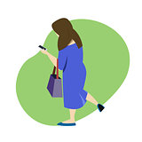 Women shopping online by smartphone. Business and e-commerce concept.