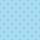 Abstract geometric background with blue squares