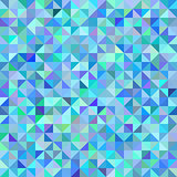Abstract background of triangles blue green scale
