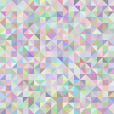 Abstract background of triangles pastel