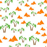 pyramids seamless background