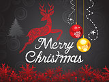abstract artistic creative christmas background