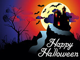 abstract artistic halloween background