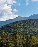 Summer Syvulja mountain view (Carpathian, Ukraine).