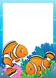 Clownfish topic frame 1