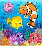 Coral fauna theme image 9