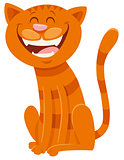 funny cat cartoon animal character