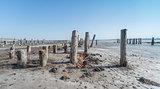 Drying Lake near Odessa, Ukraine