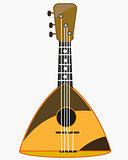 Music instrument balalaika