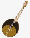 Music instrument domra