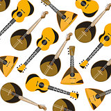 Music instruments pattern