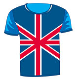 T-shirt flag United Kingdom