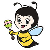 Cartoon Baby Bee