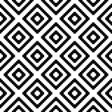 Seamless textile pattern - vector geometric background