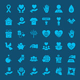 Charity Solid Web Icons