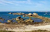 Rocky coastline of Meneham