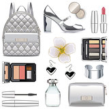 Vector Silver Fashion Accessories