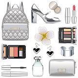 Vector Silver Fashion Accessories