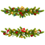 Vector Christmas Fir Decoration