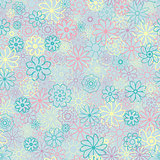 Cute Floral pattern in the small flower. Ditsy print . Motifs scattered random. Seamless vector texture. Elegant template for fashion prints. Printing with very small light flowers. warm color, pastel colors.
