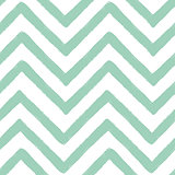 Hand drawn textured zig zag seamless pattern. Vector ilustration.