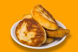 Pirojki. Traditional delicious Russian patty