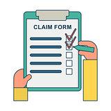 claim form blank