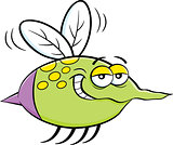 Cartoon Flying Insect