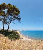 Summer Lido di Portonuovo beach, Italy