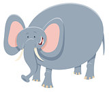 cartoon elephant safari animal character