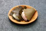 kashiwa mochi, japanese traditional sweet