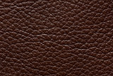 Expensive leather texture in saturated brown colour.