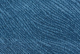 Remarkable relief blue textile background.