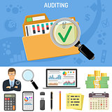Auditing, Business Accounting Concept