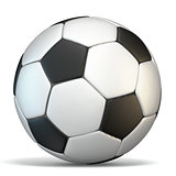 Football, soccer ball 3D