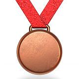 Bronze medal 3D
