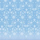 blue vintage Wallpaper