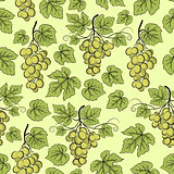 Grape, Seamless Background