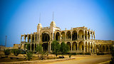 Ruins of the Banko Italia in the center of Massawa, Eritrea