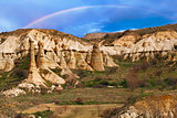 Love valley near Goreme, Turkey