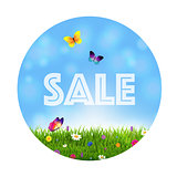 Grass And Flowers Sale Ball