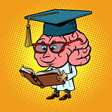Character brain University Professor