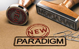Paradigm change, new theory