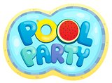 Pool party sign theme 2