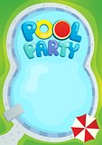 Pool party theme image 1