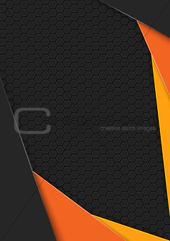 Background with Hexagonal Pattern